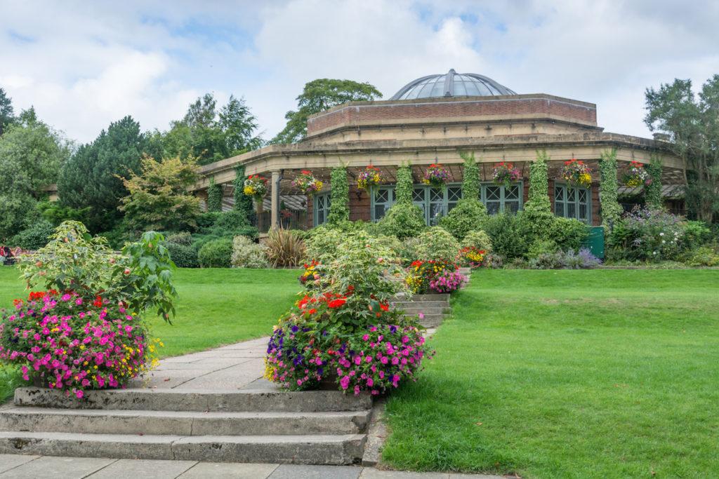 Valley Gardens in Harrogate, Yorkshire