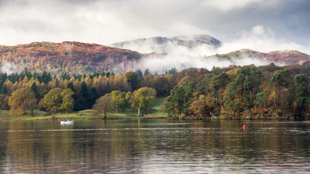 Lake Winderemere near Ambleside, Cumbria