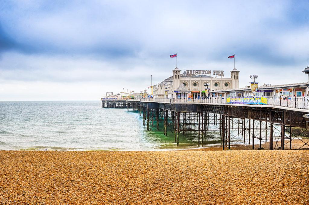 Brighton Pier in Sussex