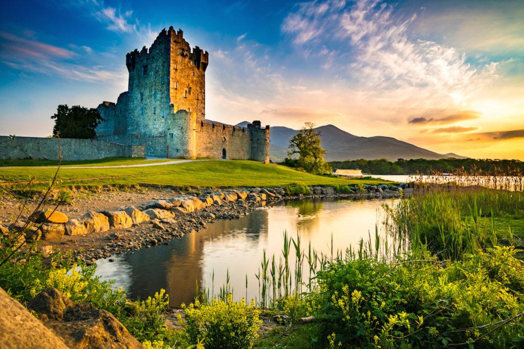 Castle Ross near Killarney, Ireland