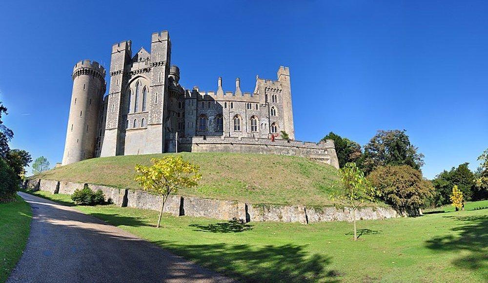 A castle in Arundel