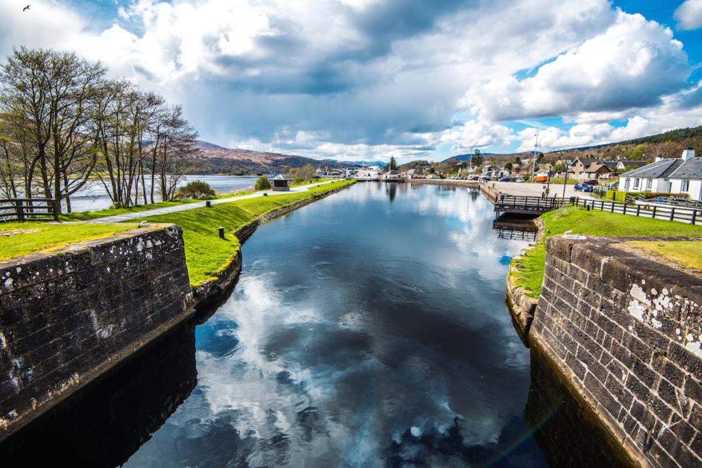 Loch Linnhe near Fort Wiliam, Scotland