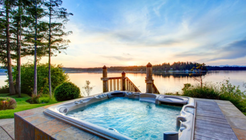 Places to stay with private hot tubs