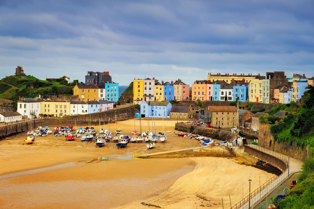 Best towns to stay in Wales, Tenby