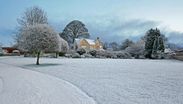 A feature image showing one of our luxury family Christmas breaks UK