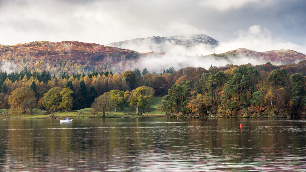 The tranquil lakes of the Lake District