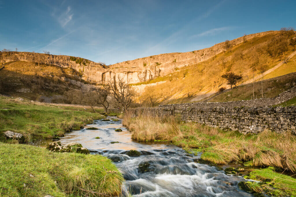 Malham Cove, the 'beauty spot' of the Yorkshire Dales