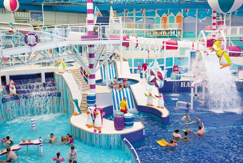 The fantastic water slides of Craig Tara Holiday Park