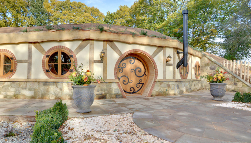 An amazing view of a stay in a Hobbit House
