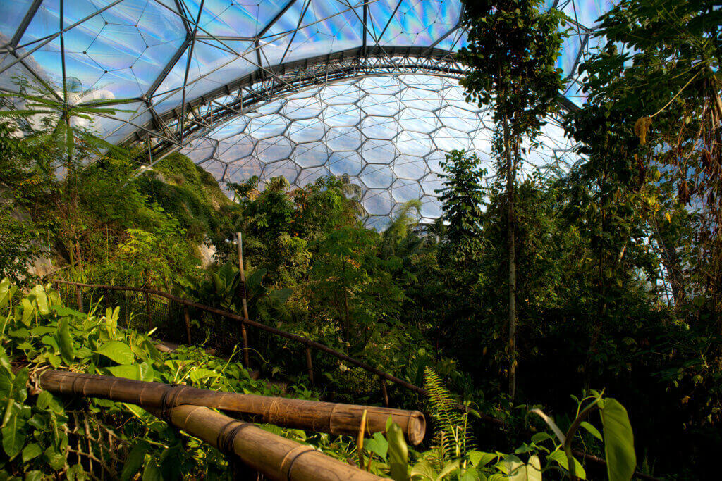 The Eden Project, one of the finest Cornwall attraction