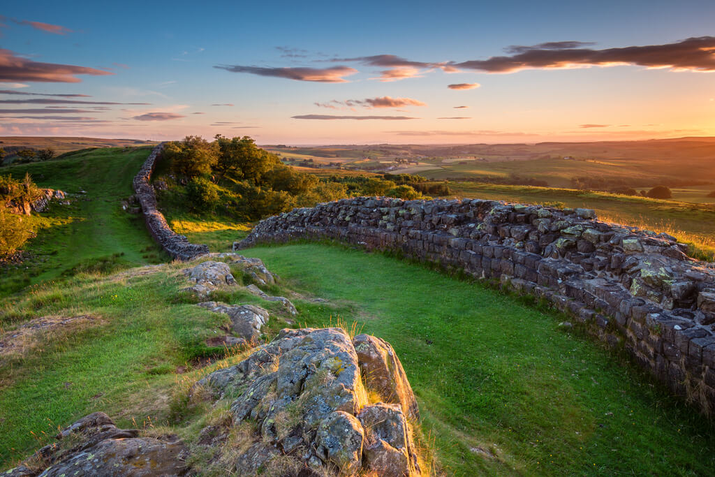 The amazing views you'll see when getting to Northumberland National Park