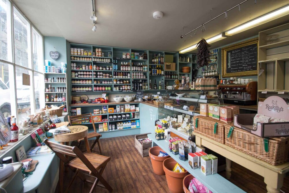 One of the best Cornwall food stores