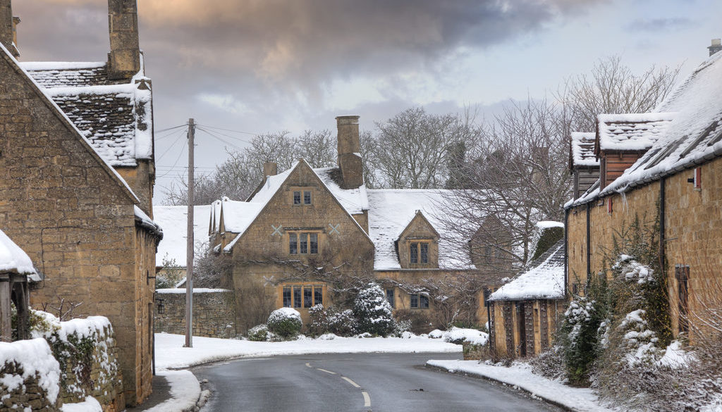 Chipping Campden, one of 10 of the most magical Christmas towns in the UK