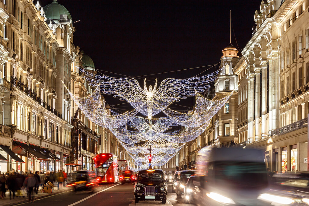 London, one of 8 of the most magical Christmas cities in the UK