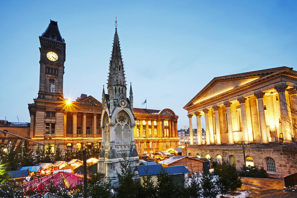 Birmingham, one of 8 of the most magical Christmas cities in the UK