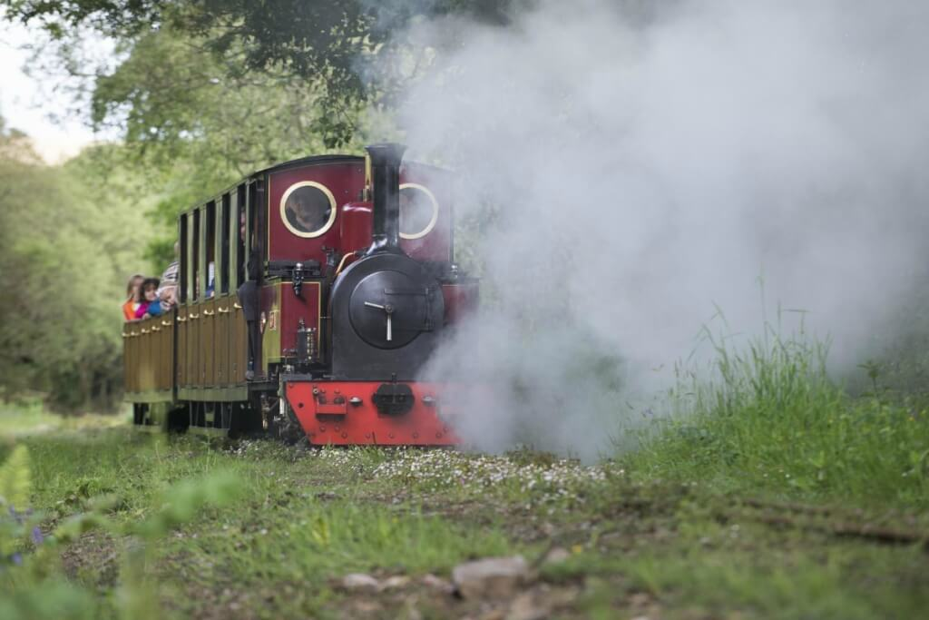 Lappa Valley steam railway, one of the best things to do in Cornwall with kids