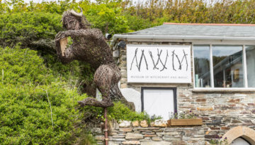 Museum of witchcraft and magic, one of the best Cornwall museums