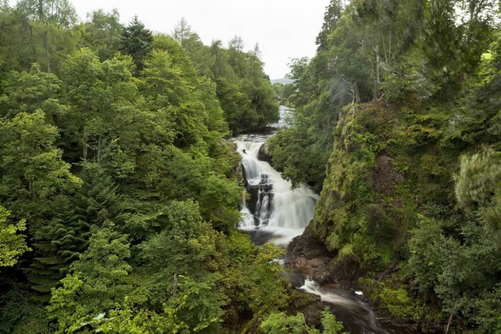 Glen Isla, one of the best places for a romantic getaway in Scotland
