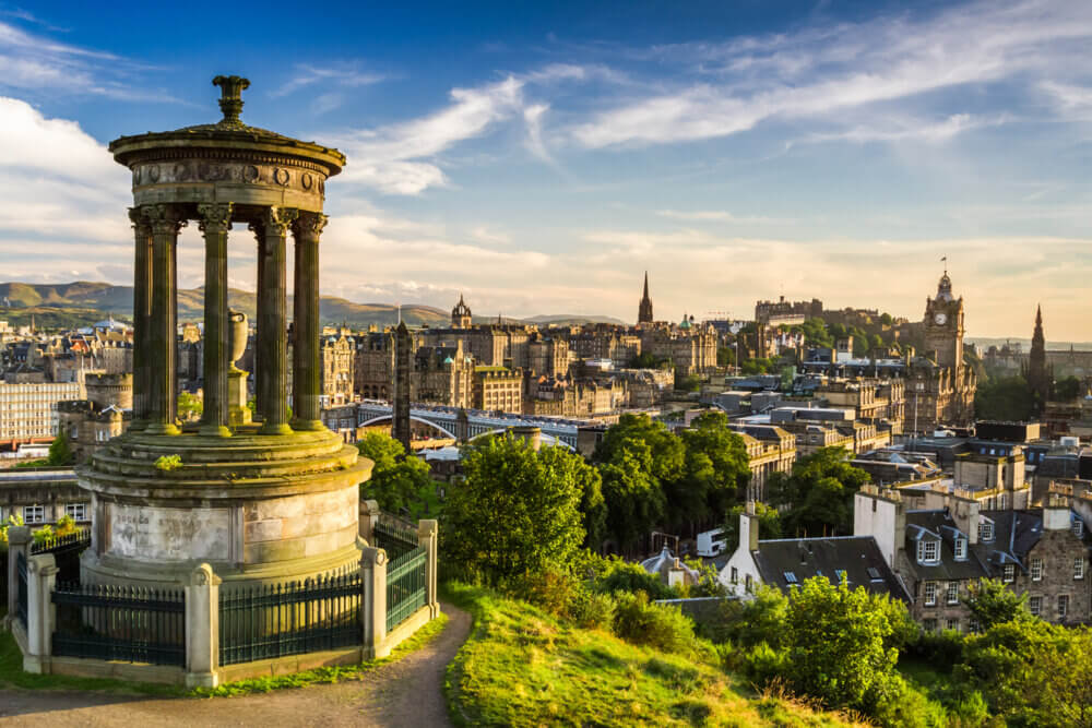 Edinburgh, one of the best places to spend New Years
