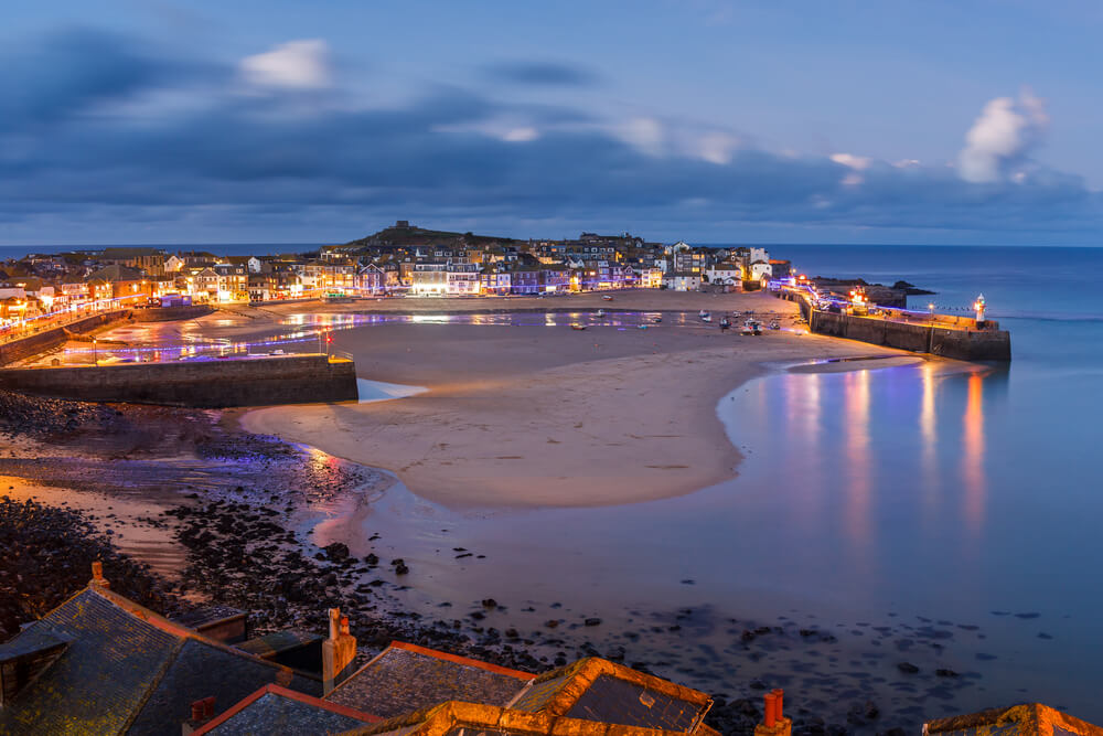 St Ives, one of the best places to spend New Years