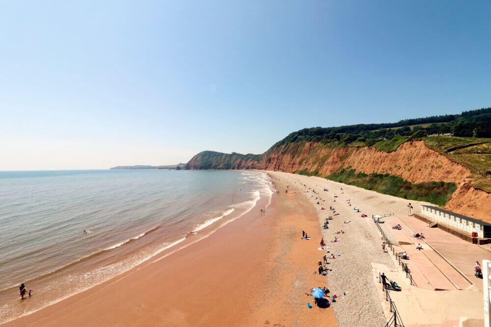 Devon, one of 15 of the most visited counties in the UK in 2019