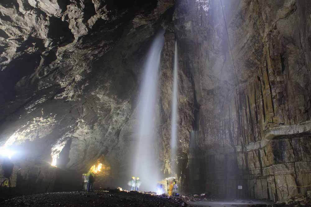 Best caves uk, Gaping Gill
