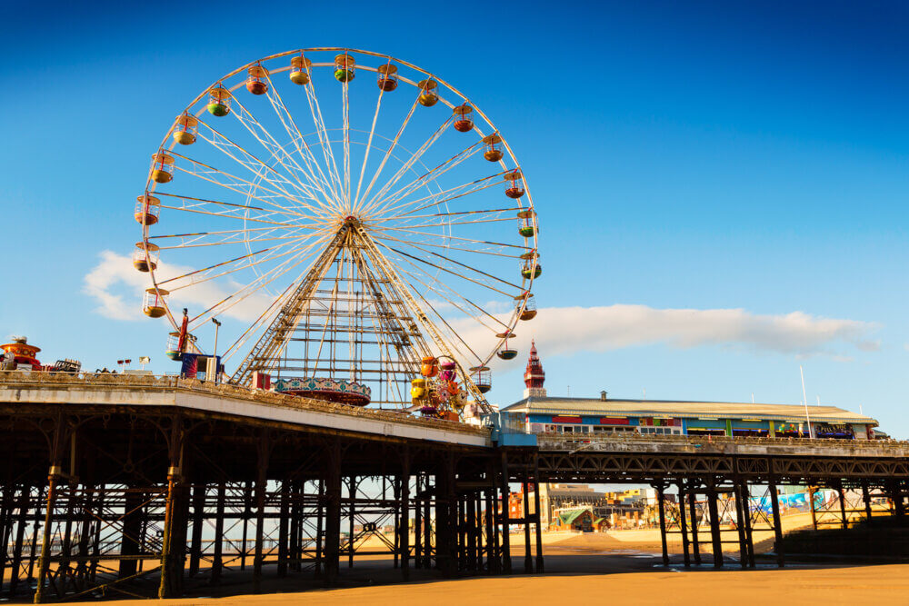 Family holiday destinations UK, Blackpool