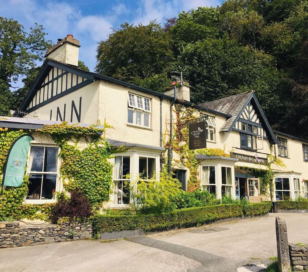 Cuckoo Brow Inn, one of the best Lake District pubs