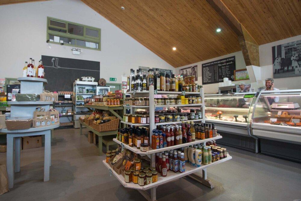 Devon food stores
