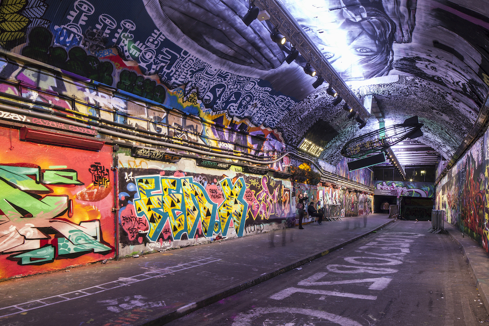 Leake Street Arches Graffiti Tunnel