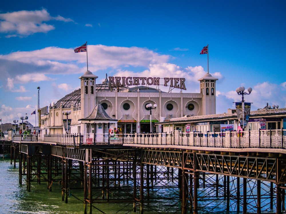 Brighton, one of the most Instagrammable places in the uk
