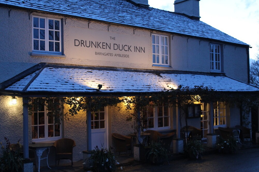 Drunken Duck, one of the best Lake District pubs
