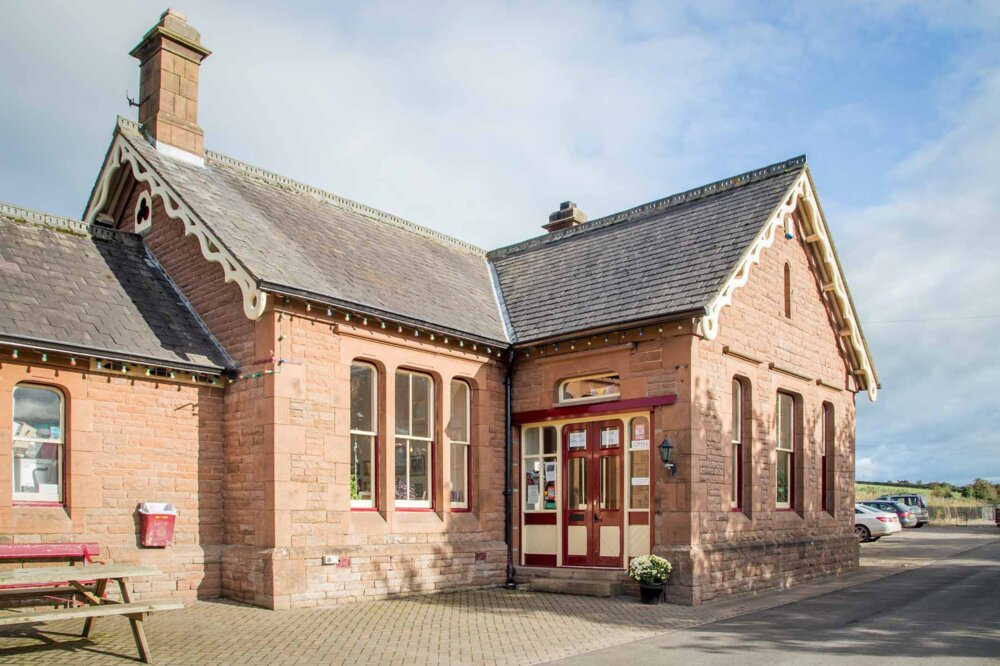 Langwathby Station
