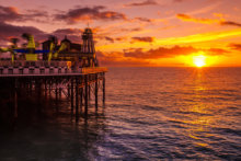The pier is a great weekend getaway from London