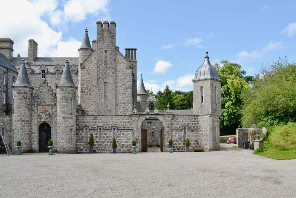 Skene House Cottage, one of the best castles to stay in the UK