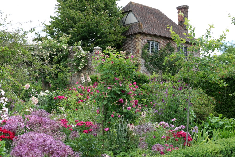 Sissinghurst, one of the best gardens in the UK