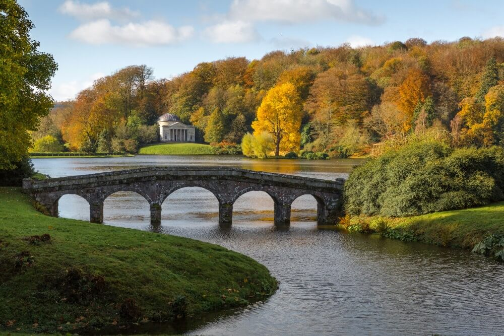 Stourhead, one of the best gardens in the UK