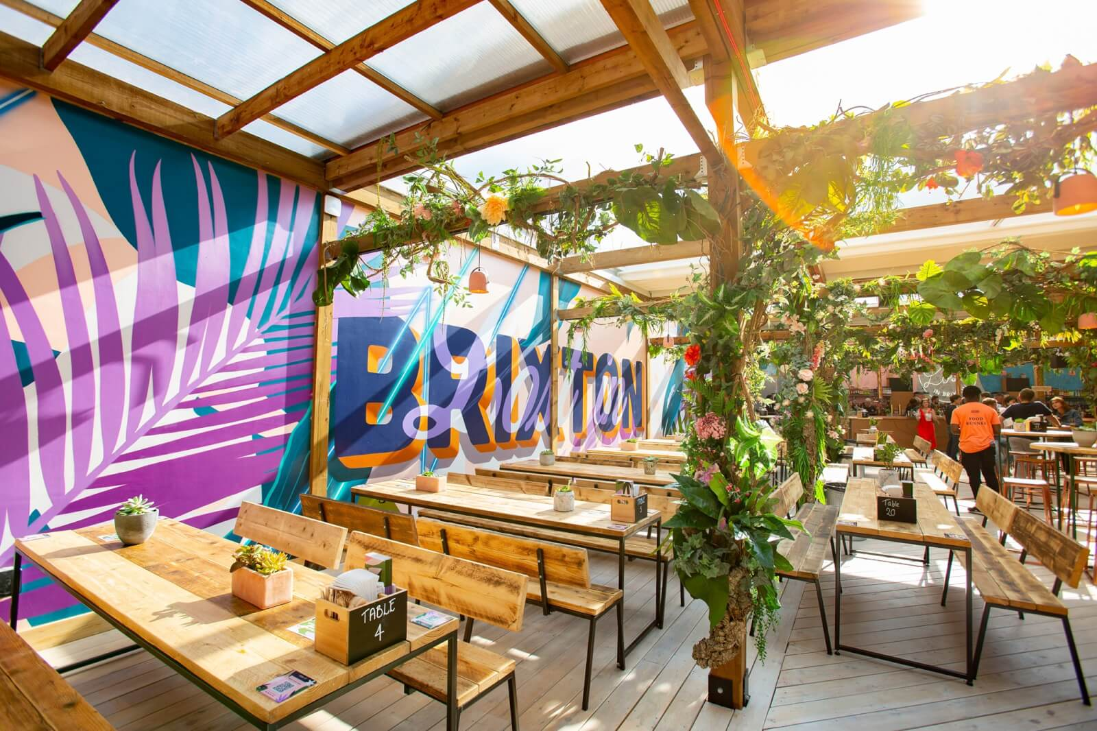 Lost in Brixton, one of the best outdoor bars in London