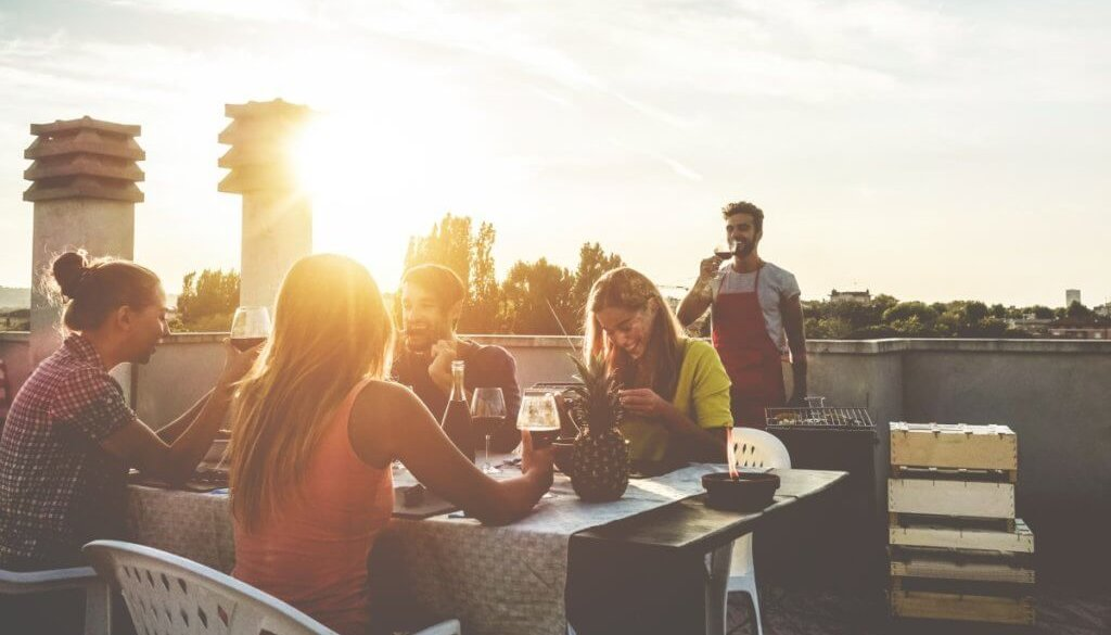 One of the best outdoor bars in London