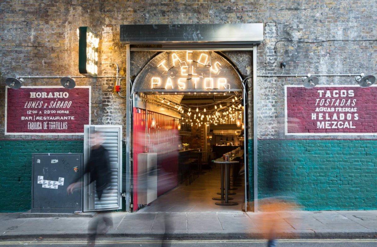 Casa Plaza, one of the best outdoor restaurants in London