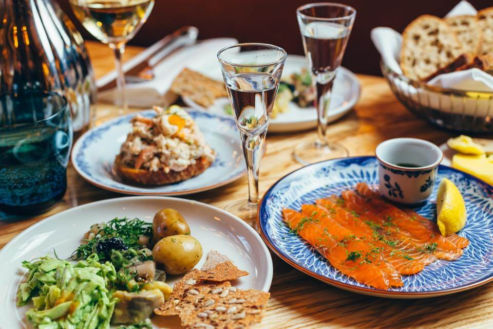 Aquavit London, one of the best outdoor restaurants in London